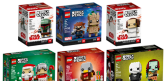 Nieuwe LEGO BrickHeadz verkrijgbaar