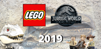 Nieuwe LEGO Jurassic World sets in 2019
