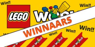 Vrijkaartjes LEGO World 2018