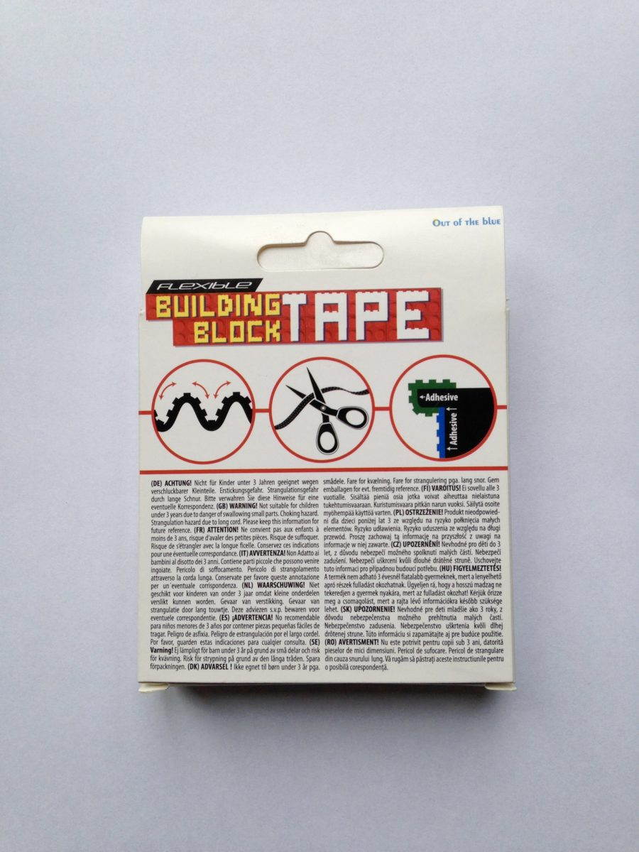 Building Block Tape