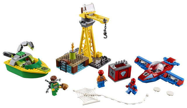 LEGO Juniors76134 Spider-Man Doc Ock Diamond Heist