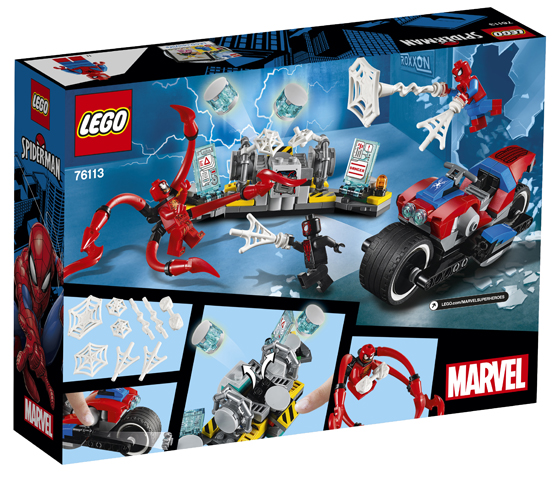 LEGO Marvel76113 Spider-Man Bike Rescue