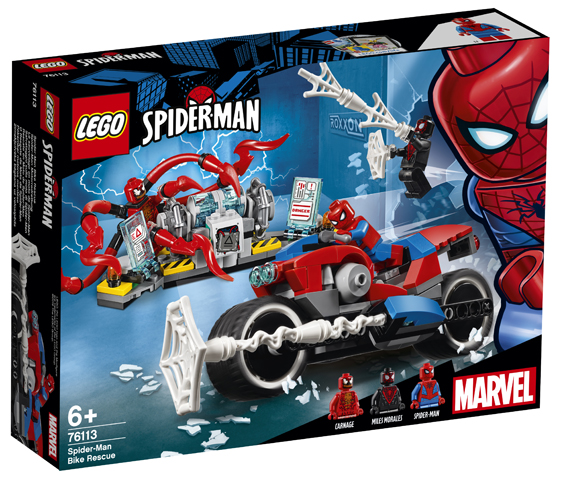 LEGO Marvel 76113 Spider-Man Bike Rescue