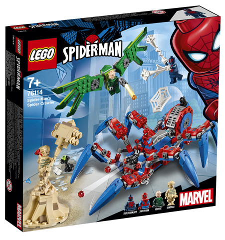 LEGO Marvel 76114 Spider-Man Spider Crawler
