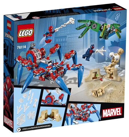 LEGO Marvel76114 Spider-Man Spider Crawler