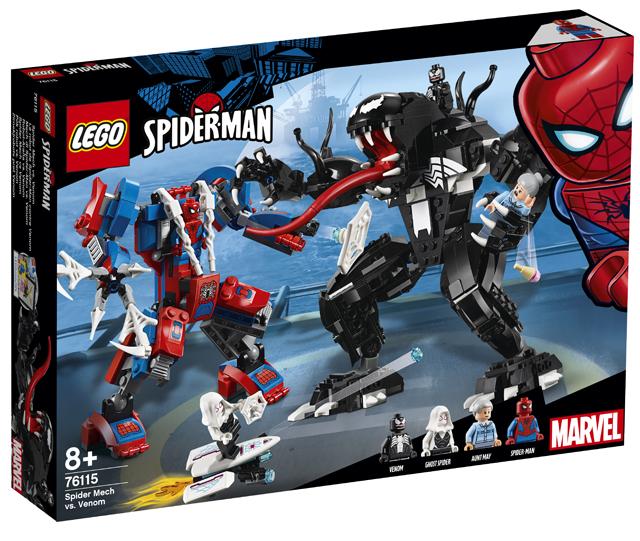LEGO Marvel 76115 Spider-Man Mech vs. Venom Mech