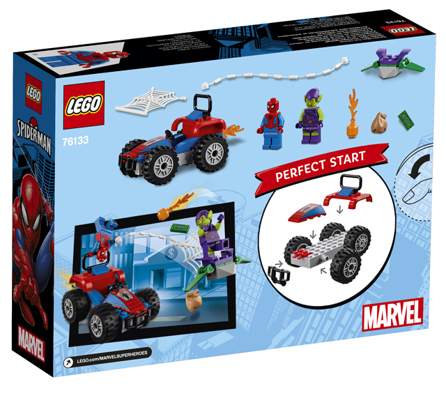 LEGO Juniors 76133 Spider-Man Car Chase