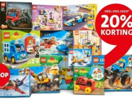 20% korting op LEGO