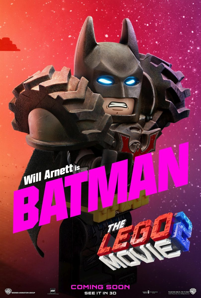 The LEGO Movie 2 Character Posters