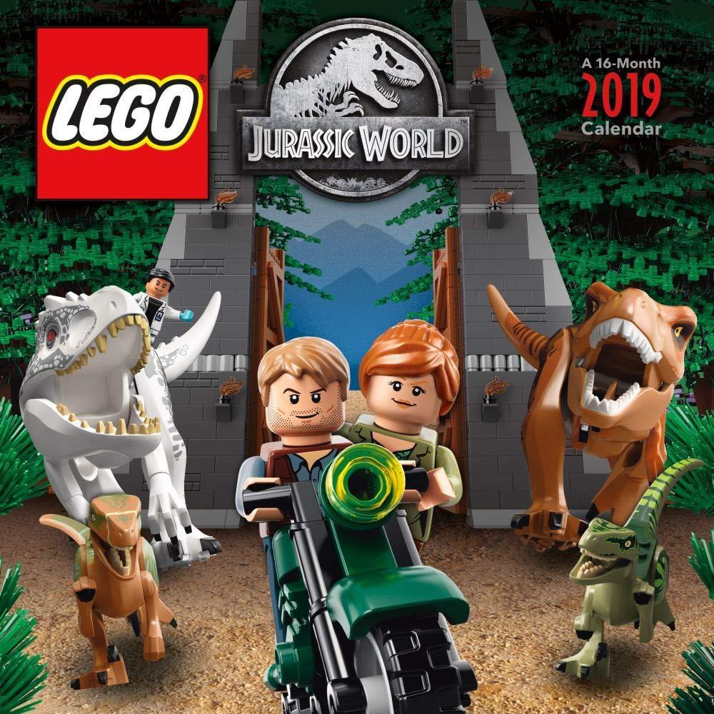 LEGO Jurassic World 2019 Calendar
