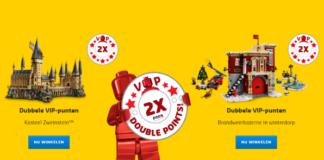 Dubbele LEGO VIP punten november 2018