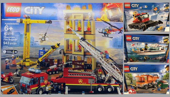 Lego City Fire Truck 2019