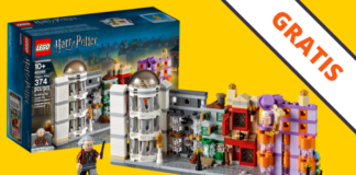 Gratis LEGO Diagon Alley