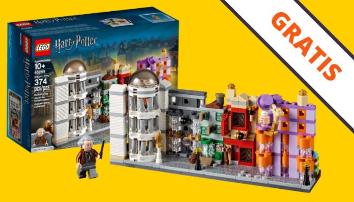 Gratis LEGO Diagon Alley