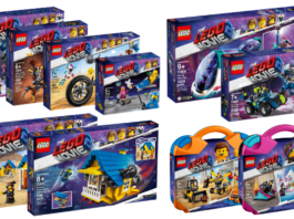 HD Visuals The LEGO Movie 2 sets