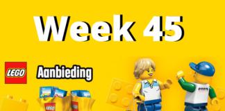 LEGO Aanbiedingen week 45 2018