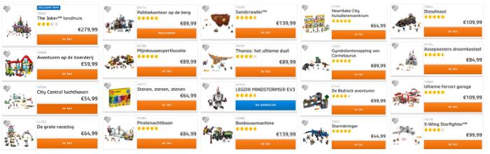 LEGO Black Friday deals 2018