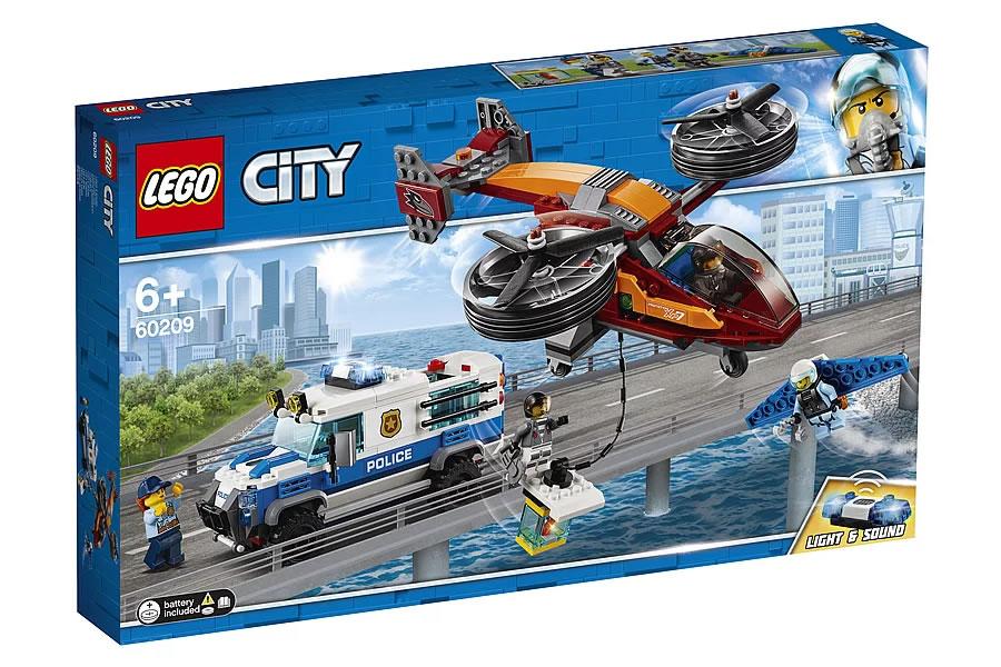 LEGO City 60209 Sky Police Diamond Heist