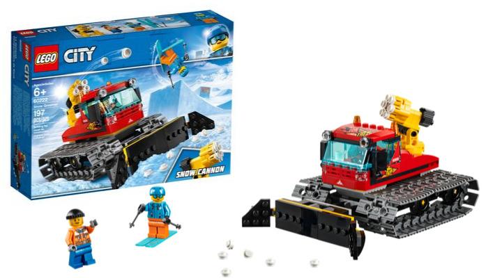 LEGO City60222 Snow Groomer