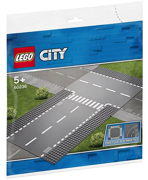 LEGO City 60236 Straight & Junction