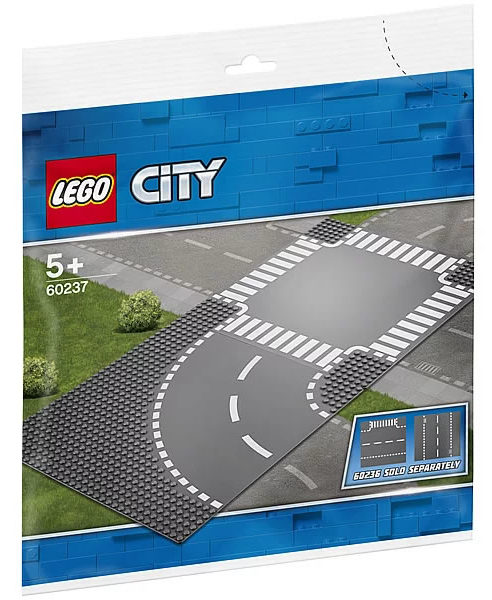 LEGO City 60237 Curve & Crossroad