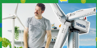 LEGO Creator Vestas Wind Turbine Designer Video