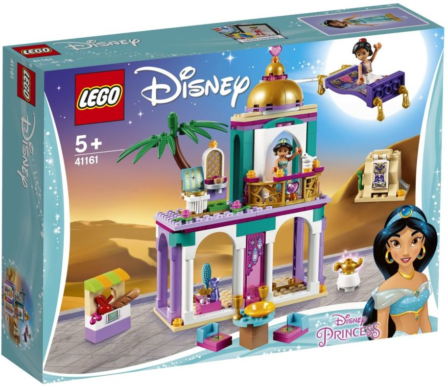 LEGO Disney 41161 Aladdin's and Jasmine's Palace Adventures