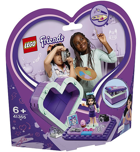LEGO Friends 41355 Emma's Heart Box