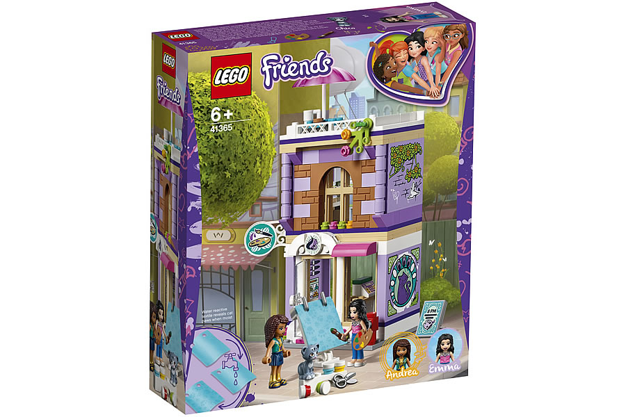 LEGO Friends 41365 Emma's Art Studio