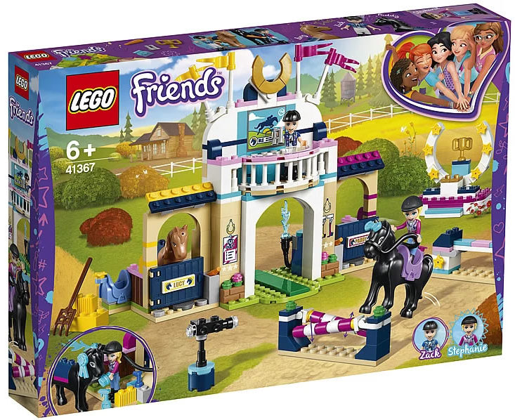 LEGO Friends 41367 Stephanie's Horse Jumping