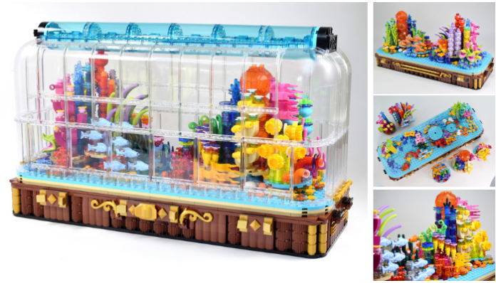 LEGO Ideas Coral Reef Aquarium