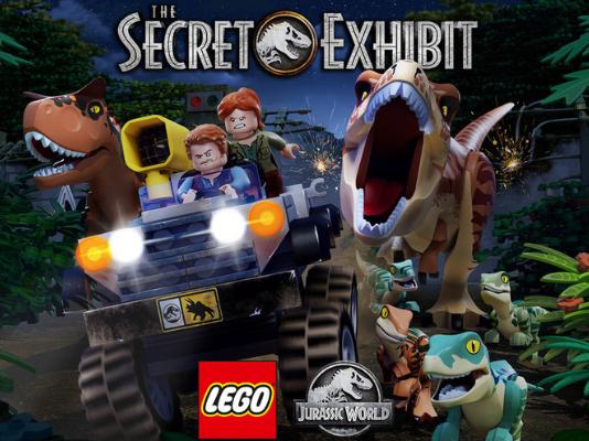 LEGO Jurassic World The Secret Exhibit aangekondigd
