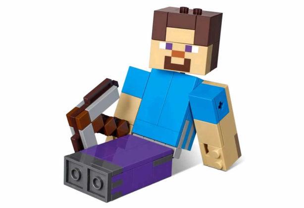 LEGO Minecraft 21148 Steve & Parrot