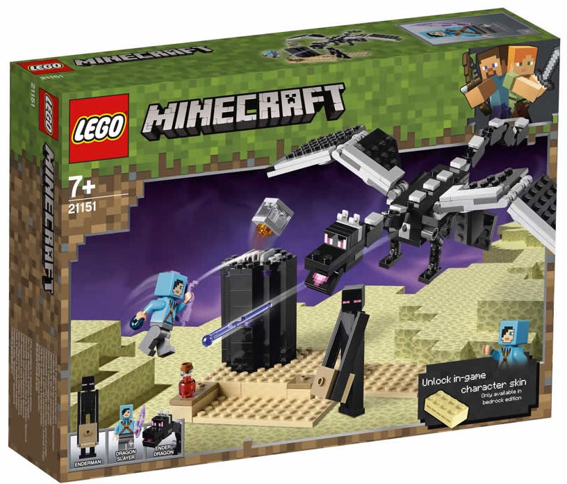LEGO Minecraft 21151 End Battle