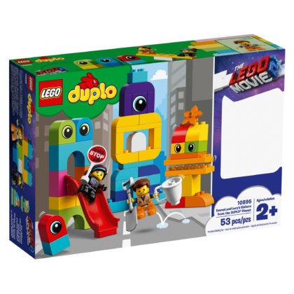 The LEGO Movie 2 10895 Emmet and Lucy's Visitors from the Planet DUPLO®