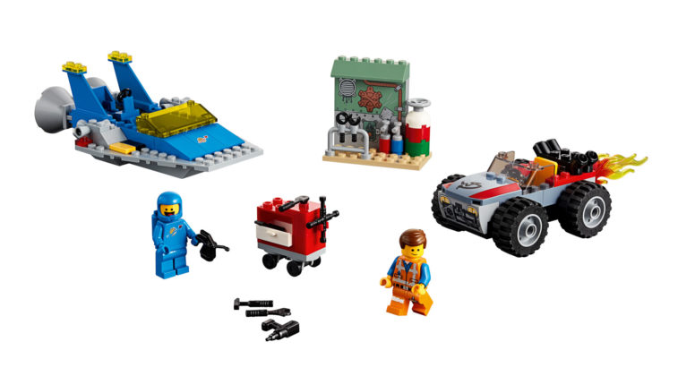 "The LEGO Movie 2 70821 Emmet and Benny's ""Build and Fix Workshop"