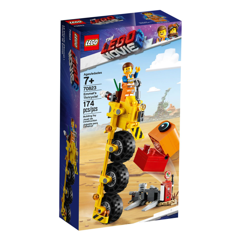 The LEGO Movie 2 70823 Emmet's Thricycle!