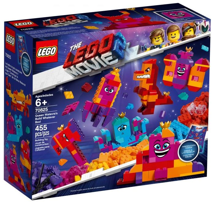 The LEGO Movie 2 70825 Queen Watevra Wa'Nabi's Build Whatever Box