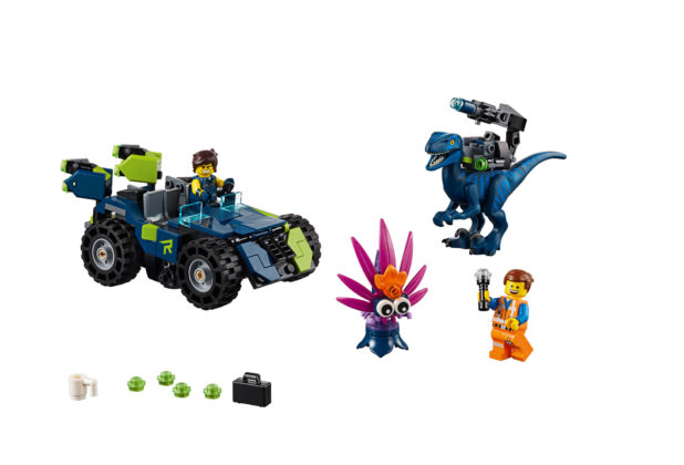 The LEGO Movie 2 70826 Rex's Rextreme Offroader