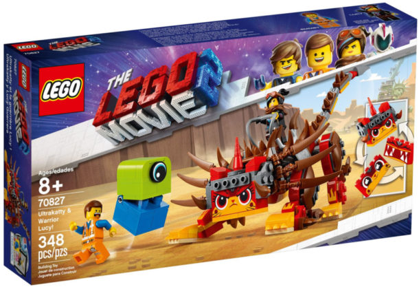 The LEGO Movie 2 70827 Ultrakatty and Warrior Lucy!