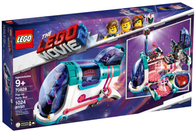The LEGO Movie 2 70828 Pop-Up Party Bus