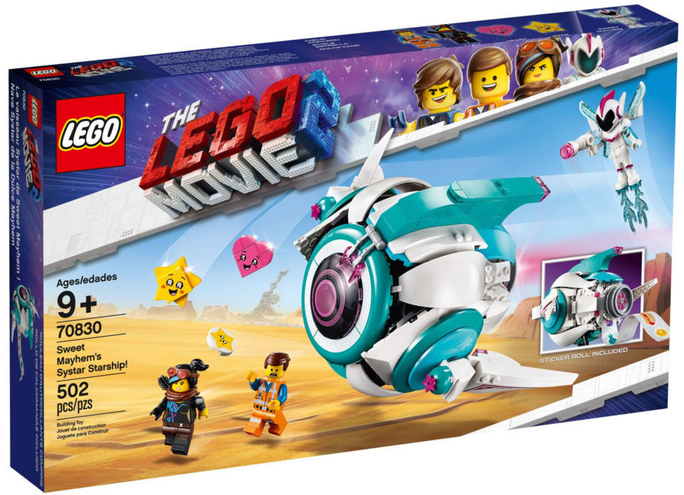 The LEGO Movie 2 70830 Sweet Mayhem's Systar Starship