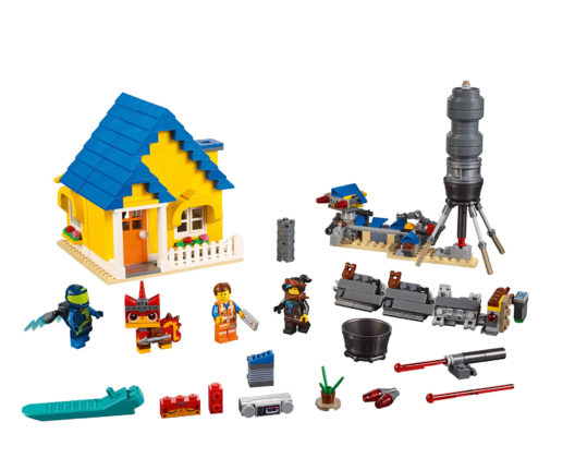 The LEGO Movie 2 70831 Emmet's Dream House / Rescue Rocket