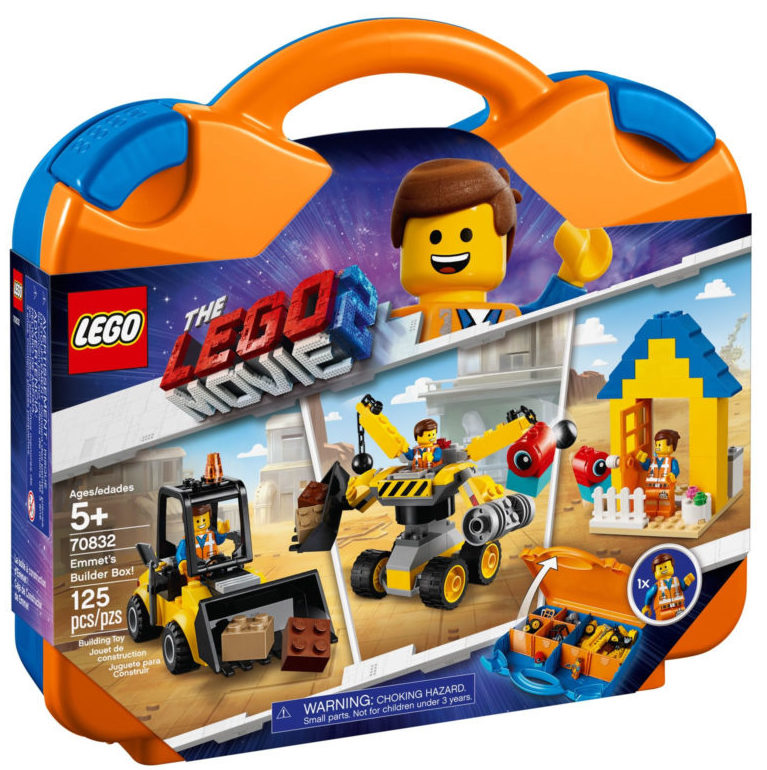 The LEGO Movie 2 70832 Emmet's Builder Box