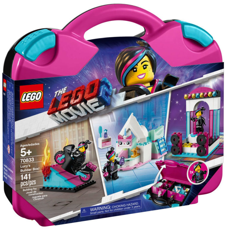 The LEGO Movie 2 70833 Lucy's Builder Box