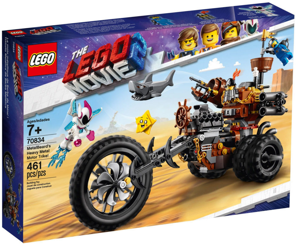 The LEGO Movie 2 70834 MetalBeard's Heavy Metal Motor Trike