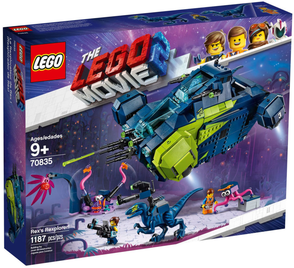 The LEGO Movie 2 70835 Rex's Rexplorer