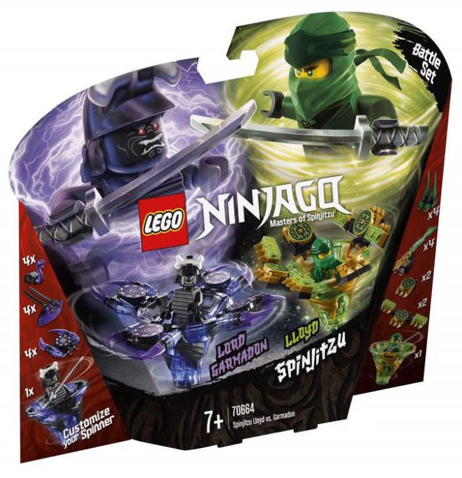 LEGO Ninjago 70664 Spinjitzu Lloyd & Garmadon