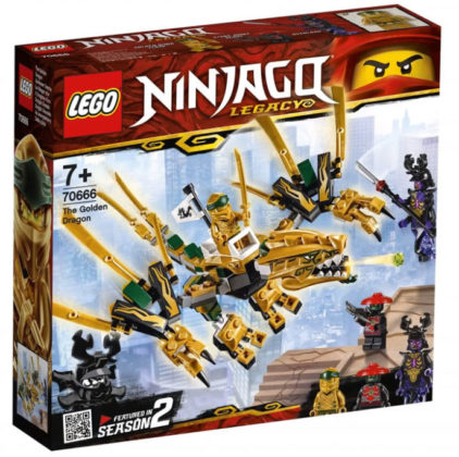 LEGO Ninjago 70666 Golden Dragon
