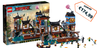 LEGO Ninjago City Docks nu €174,99